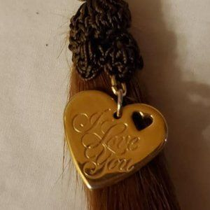 Upcycled mink keychain or purse/jacket zipper pull